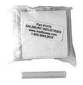Commercial 1070 Label Holders - Bag of (50)