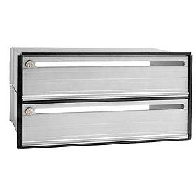 Commercial 2402 2 Door Data Distribution System Aluminum Box