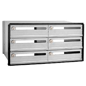 Commercial 2406 6 Door Data Distribution System Aluminum Box