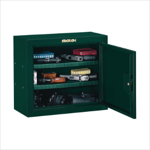 Stack-On Safes Security Plus Steel Pistol and Ammo Key Lock Security Cabinet