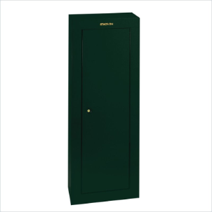 Stack-On Safes Security Plus 8 Gun Steel Green Security Cabinet with Key Lock