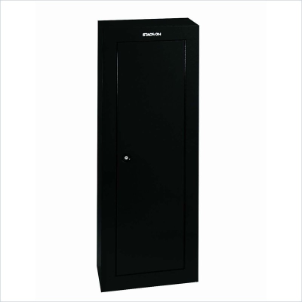 Stack-On Safes Security Plus 8 Gun Steel Security Cabinet with Key Lock in Black