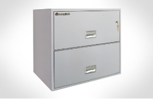 Sentry Safes 2L3600 Lateral 2-Drawer 36 Inch Wide Fire File Safe