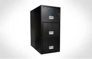 Sentry Safes 3T3110 Letter Vertical 3-Drawer Fire File Safe