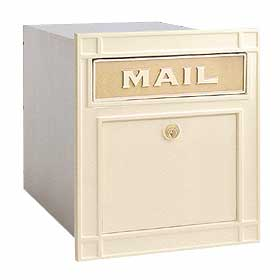 Residential 4145p Column Mailbox - locking