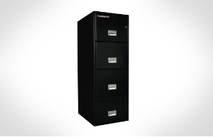 Sentry Safes 4G2500 Legal Vertical 4-Drawer Fire File Safe