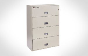 Sentry Safes 4L3600 Lateral 4-Drawer 36 Inch Wide Fire File Safe