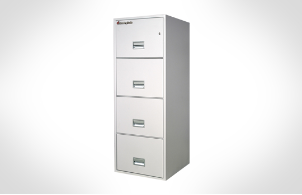 Sentry Safes 4T2510 Letter Vertical 4-Drawer Fire File Safe