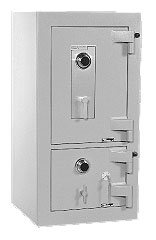 High security fire rated composite body and door safes