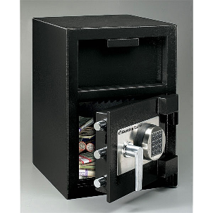 Sentry safes front loading depository safe