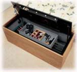 Gun Chest horizontal with 8 gun interior gun safe