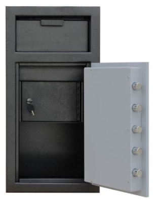 Mesa MFL2714E-ILK Electronic Lock B Rate Construction Depository Safe