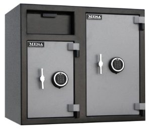 Mesa MFL2731EE Electronic Lock B Rate Construction Depository Safe