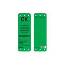 Master Lock S4702 Green OK to Use Scaffolding Tag