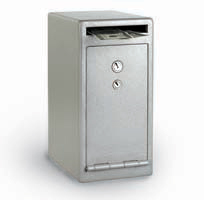 Sentry depository safes double key drop slot safe