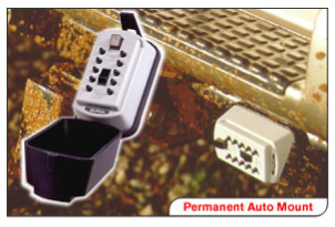 Key Boxes permanent auto/suv key box