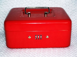Cash Box /  heavy duty cash box combination lock