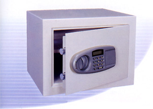 Fire Safes: electronic LCD burglary resistant fireproof safe