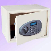 Airport security safes:  Electronic handgun safe
