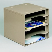 Mail Sorters: Adjustable 4 to 7 bin mail Sorting Rack