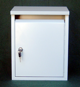 Mailboxes: locking rainproof vertical home mailboxes