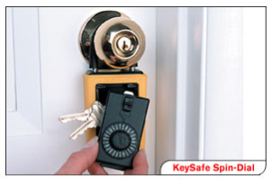 Key Boxes spin dial key box