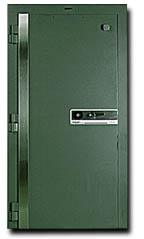 Fire resistant  vault and file room door