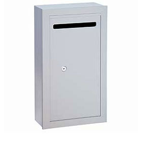 Commercial 2260 Slim Surface Mounted Letter Boxes with (2) Keys