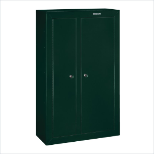 Stack-On Safes Security Plus 10 Gun Double-Door Steel Key Lock Security Cabinet