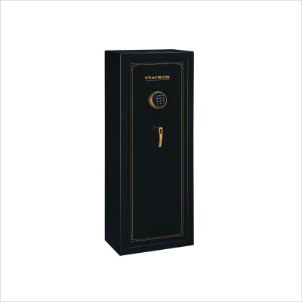 Stack-On Safes 10 Gun Safe with Electronic Lock in Black