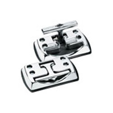 Master Lock 3079DAT Truck Hardware Chrome Fold Away Cleats