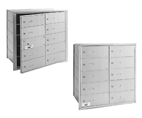 Commercial 3610 10 Door 4B+ Horizontal Mailboxes