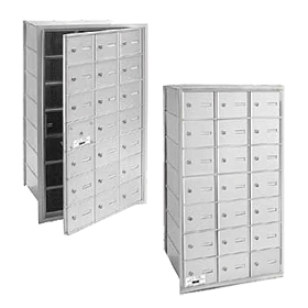 Commercial 3621 21 Door 4B+ Horizontal Mailboxes