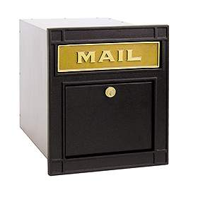 Residential Column Mailbox Locking with Durable Powder Coated