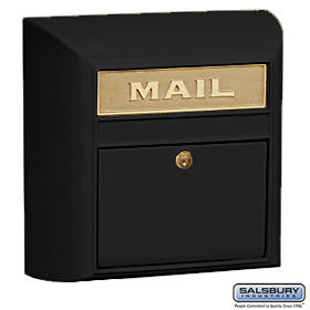 Residential Modern Mailbox with Durable Powder Coated Finish