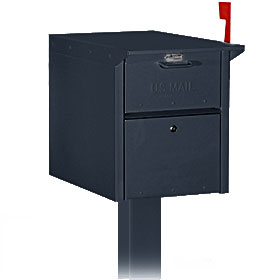 Commercial 4350 Mail Chest with Front and Rear Access