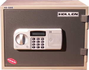 Hollon HS-310E Two Hour Fireproof Home Safe