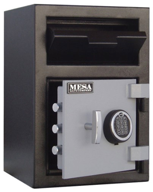 Mesa MFL2014E Electronic Lock B Rate Construction Depository Safe