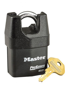 Master Lock 6321 Pro Series High Security Rekeyable Padlocks
