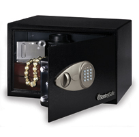 Sentry Safes X055 electronic lock override key personal security safe