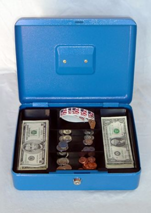 Cash Boxes: extra large cash box