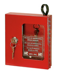 Emergency Key Box with a plexiglass window