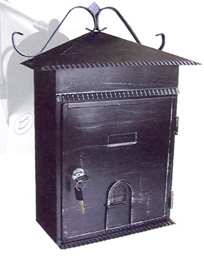 Mailboxes: large locking rainproof vertical home mailboxes