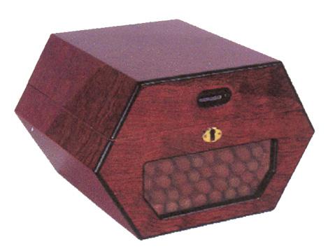 Cigar Humidors 50 Cigar Cuban Wheel Humidor