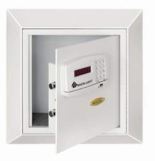 hotel wall safes digital keypad electronic hotel wall safe with card reader. Black Bedroom Furniture Sets. Home Design Ideas