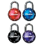 Masterlock Sphero Mini Locks in Black, Blue, Purple and Red