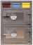 Hollon 3D-2820MM-E Depository Safe