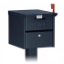 Residential Roadsid Mailbox w/Front and Rear Access Locking Door