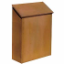 Residential Antiqu Bras Mailbox Std Surfac Mounted Vertical Styl