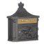 Residential Victorian Mailbox Surface Mounted w/ Die Cast Alm
